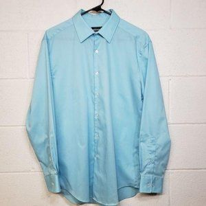 Van Heusen | Sky Blue Button Down Long Sleeve Top